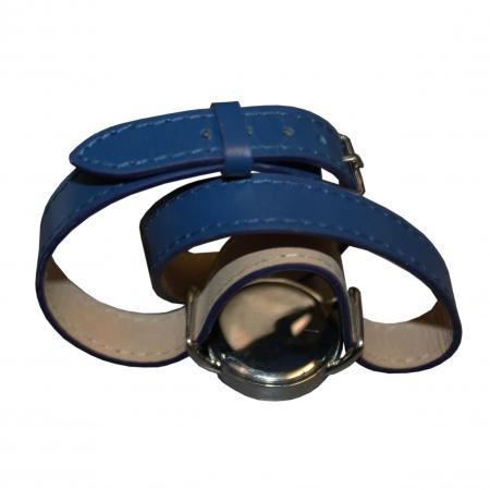 Ceas Cacharel Blossom Bleu si Esarfa Casmir Bleumarine2