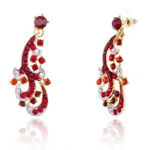 Cardinal Paradise Luxury Borealy Set colier cercei2