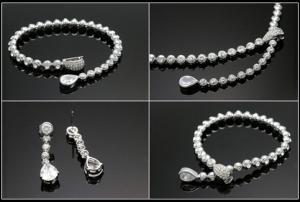 Luxury Hypnotic Set Medalion, Cercei, Brăţară1