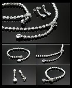 Luxury Hypnotic Set Medalion, Cercei, Brăţară5