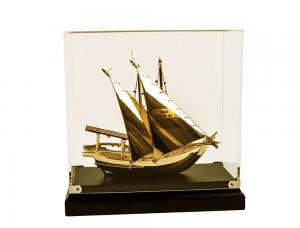 Macheta Gold Ship Glass 24 carate5