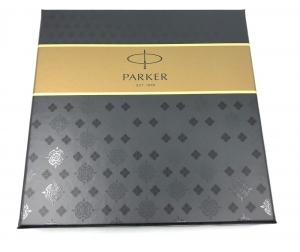 Business Parker Set Gold 23 kt. Brushed Metal3