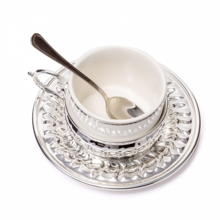 American Silver Coffee Set for Two by Chinelli [2]