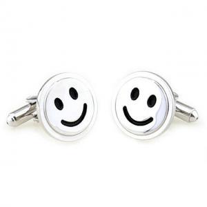 Butoni Borealy Happy Face Silver0