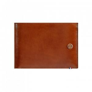 Set Leather Wallet Bank Note Brown S.T. Dupont si Note Pad Burgundy Hugo Boss2