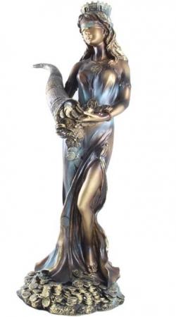 Statueta Zeiţa Fortuna - 25 cm înălţime4