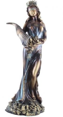 Statueta Zeiţa Fortuna - 25 cm înălţime0