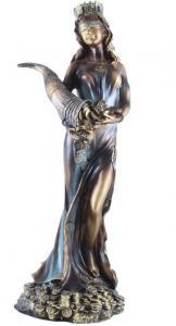 Statueta Zeiţa Fortuna - 35 cm înălţime
