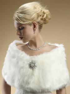 Stylish Lady Set Colier Cercei with Zirconia Simulated Diamonds [3]