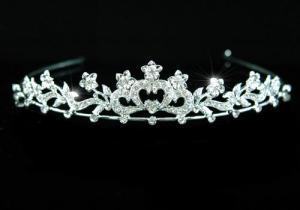 Tiara Borealy Bridal Heart Crystal0
