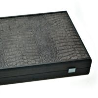 MANOPOULOS TABLE DIN PIELE DE CROCODIL [1]