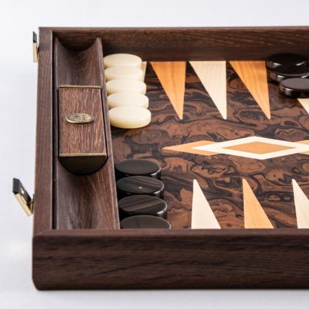 TABLE PREMIUM CU SL - CALIFORNIA WALNUT BURL made in Greece by Manopoulos [1]