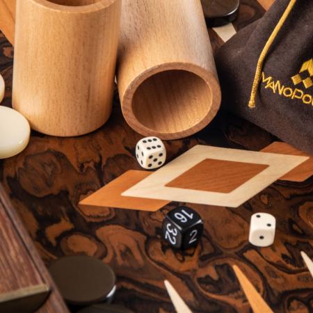TABLE PREMIUM CU SL - CALIFORNIA WALNUT BURL made in Greece by Manopoulos [2]