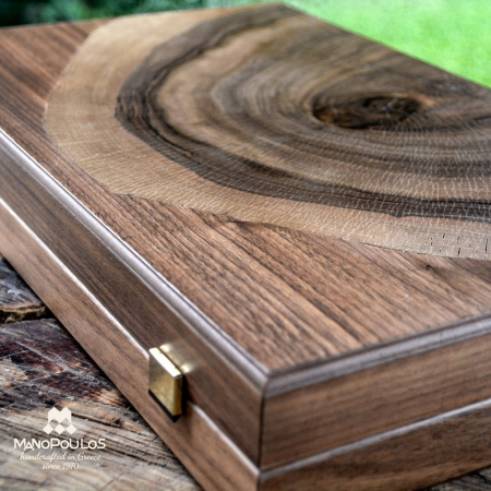 TABLE LUXURY - WALNUT NATURAL TREE TRUNK made in Greece by Manopoulos [7]