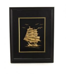 Tablou Golden Ship 24 Karate0