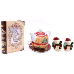 Tea for Santa + Decoratiuni de Craciun din Ceramica0