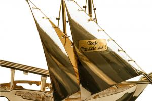Macheta Gold Ship Glass 24 carate6
