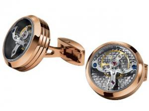 Butoni TF Est. 1968 Tourbillon Luxury - Placaţi cu aur roz - Made in Switzerland4