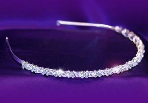 Tiara Borealy Bentita Delicate Bride Headband1