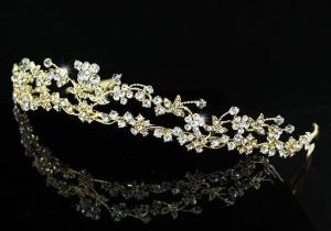Tiara Borealy Divine Bride Gold1
