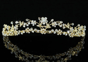 Tiara Borealy Divine Bride Gold0