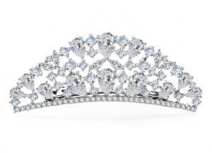 Tiara Borealy Luxury Bride Pieptane0