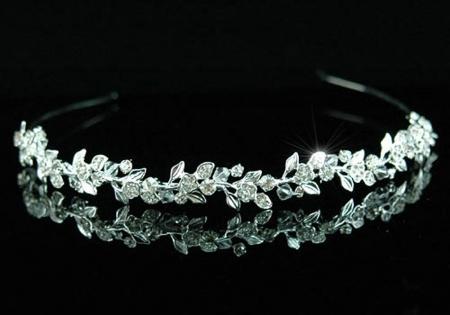 Tiara Bentita Borealy Wedding Flower Crystal [0]