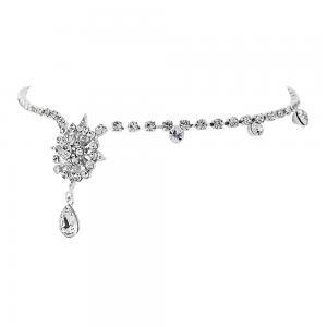 Tiara Borealy Crystal Chantilly Luxe Brow Band0