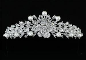 Tiară Borealy Perle Luxury Rose3