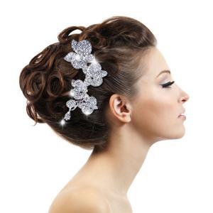 Tiara Agrafă Orhidee Luxury Borealy1