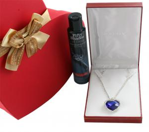 Titanic Heart Sapphire & Fifty Shades of Grey1