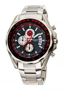 Chronograph Watch Black&Silver Jos von Arx0
