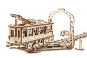 Tramvai cu statie Puzzle 3D Mecanic2