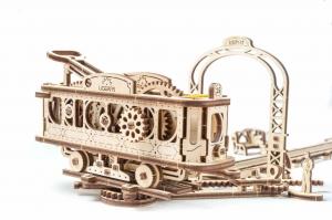 Tramvai cu statie Puzzle 3D Mecanic3