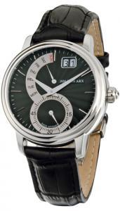 Retrograde Watch Black&Silver Jos von Arx0