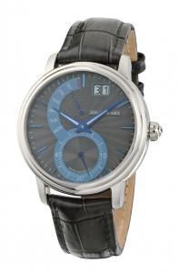 Retrograde Watch Grey&Blue Jos von Arx