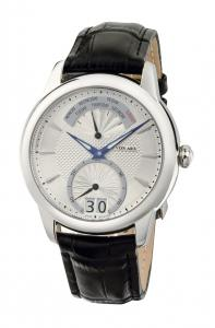 Watch Retrograde Silver Jos von Arx0