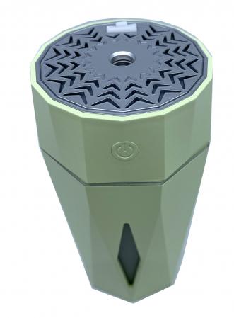 Umidificator Ultrasonic Diamond Shaped by Borealy, 7 x 15 cm [1]