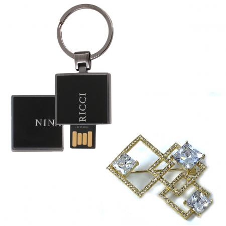 USB stick Manuscrit 2Gb Nina Ricci + Cadou Brosa Borealy [0]