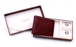 Wallet & Cufflinks Set by Jos von Arx0