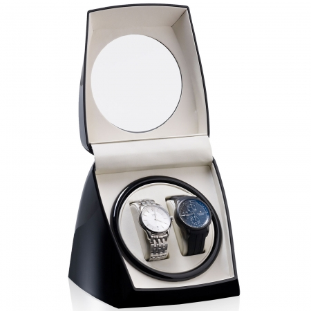 Watch Winder Classico by Designhütte – Made in Germany0