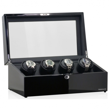 Watch Winder München 4 by Designhütte - Made in Germany0