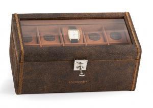 Set Cutie 20 ceasuri Cubano Piele Naturala by Friedrich si Note Pad Burgundy Hugo Boss3