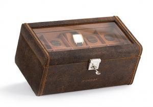 Set Cutie 20 ceasuri Cubano Piele Naturala by Friedrich si Note Pad Burgundy Hugo Boss5