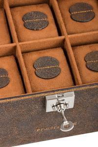 Set Cutie 20 ceasuri Cubano Piele Naturala by Friedrich si Note Pad Burgundy Hugo Boss6