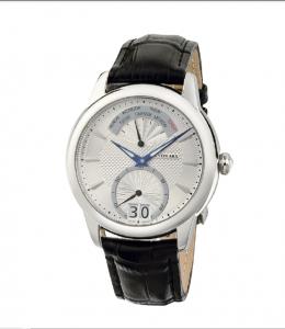 Watch Retrograde Silver Jos von Arx1