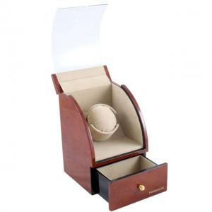 Watch Winder Basel 1 BROWN by Designhütte – Made in Germany1