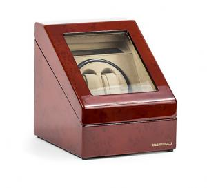Watch Winder Monaco Brown 2 by Designhutte - Made in Germany - personalizabil5