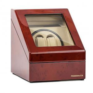 Watch Winder Monaco Brown 2 by Designhutte - Made in Germany - personalizabil