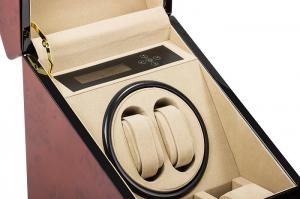 Watch Winder Monaco Brown 2 by Designhutte - Made in Germany - personalizabil2